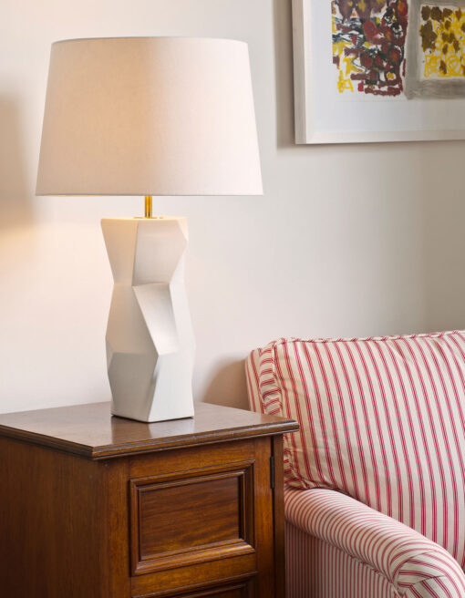 Longton Faceted Lamp