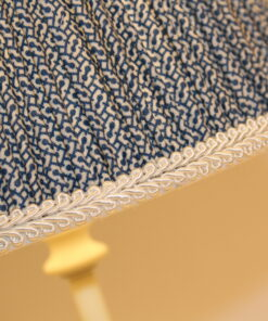 Fruncida Blue Lampshade