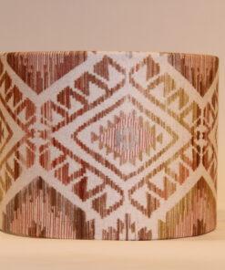 Natural Aztec Lampshade