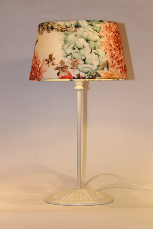 Multi-floral lampshade
