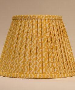 Hand printed lampshade