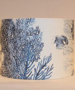 Blue Reef Circular Lampshade