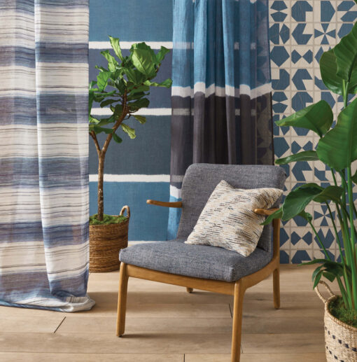 Interior fabric Kanoko Kozo Stripe