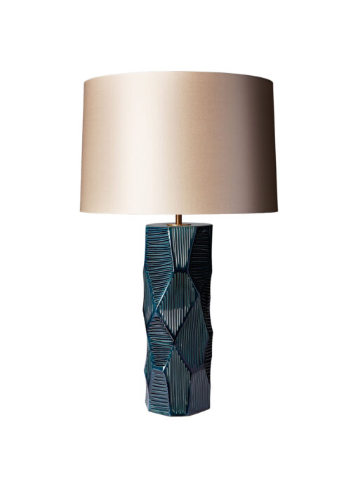 Dune Teal Table Lamp