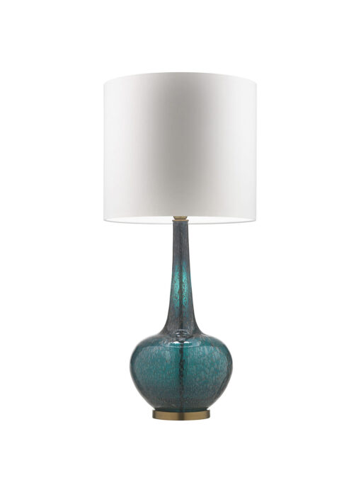 Grace Tuscan Teal Table Lamp