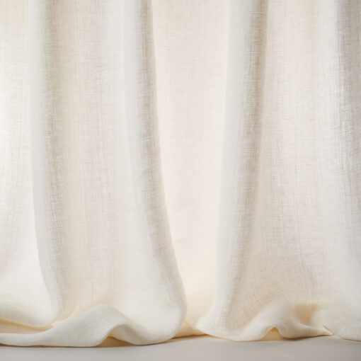 Colefax Ivory Sheer Curtain Fabric