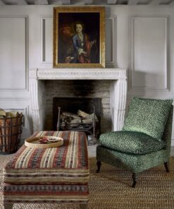 Green Upholstery Fabric animal print